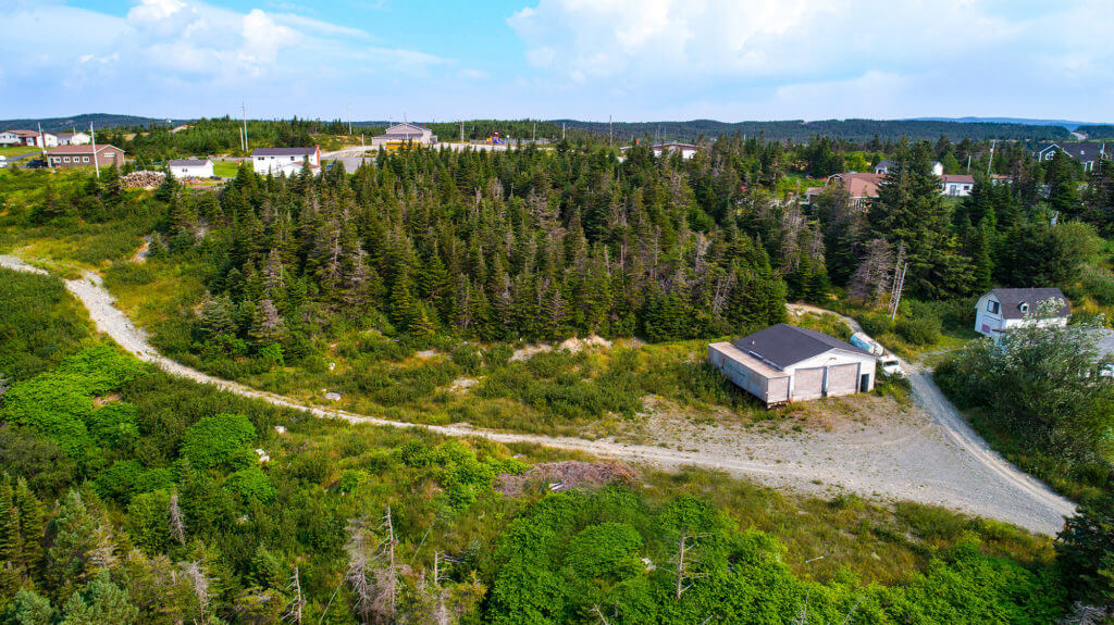 Land for sale on Luby's Lane in Tors Cove, Newfoundland.