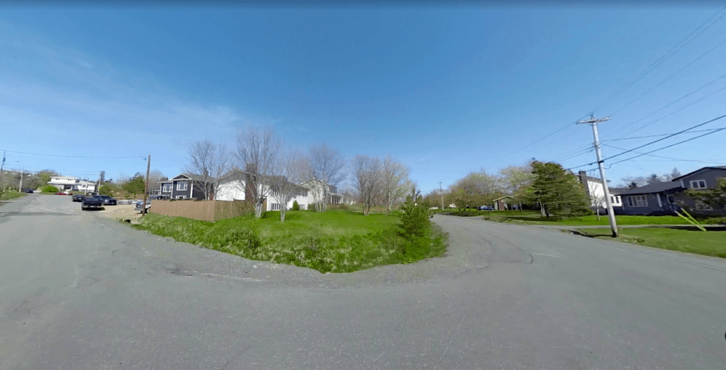 Land for sale in Goulds, Newfoundland.