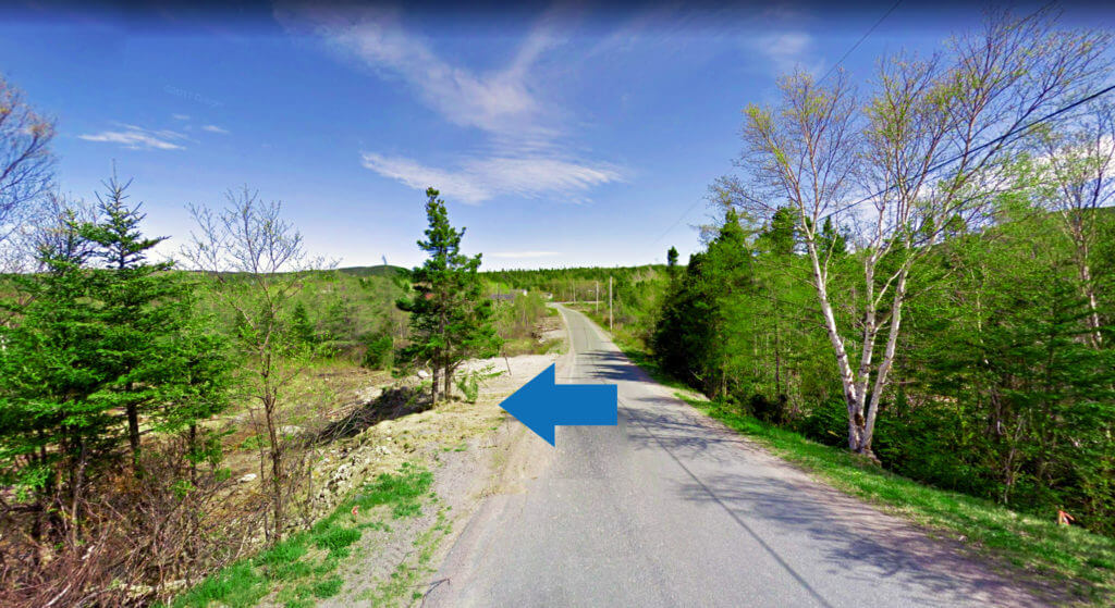 Land for sale in Holyrood, Newfoundland.