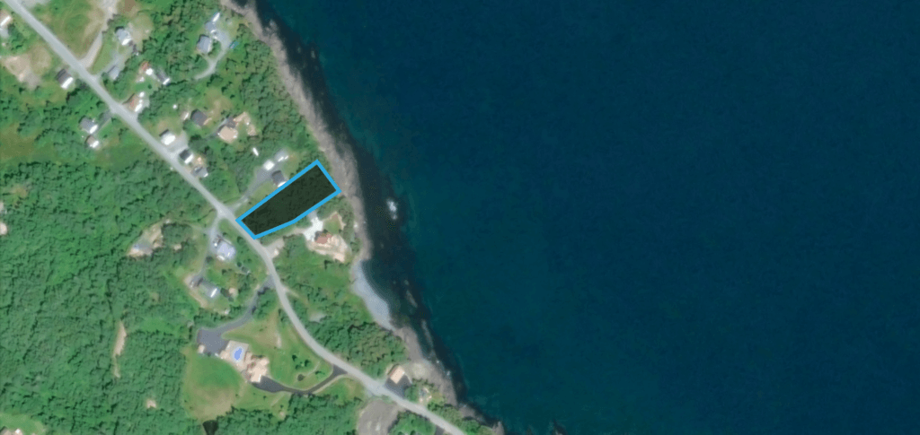 Land for sale in Bay Bulls, Newfoundland.