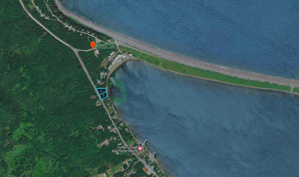 Land for sale in Bellevue Beach Newfoundland.
