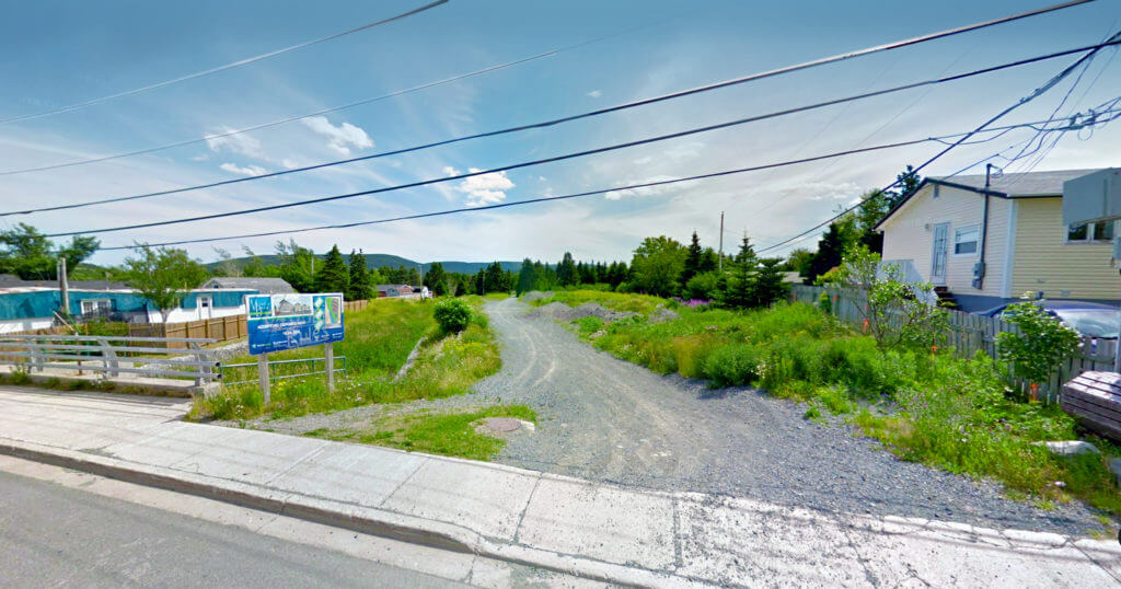 Land for Sale on Meadowbrook Drive in Goulds, NL.